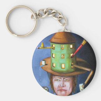 The Thinking Cap Keychain