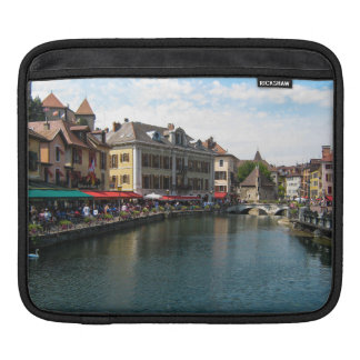 The Thiou River, Annecy, France Sleeves For iPads