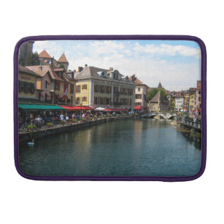 The Thiou River, Annecy - Macbook Pro Sleeve