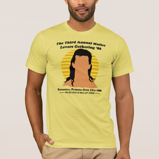 The Third Annual Mullet Lovers Gathering '86 T-Shirt