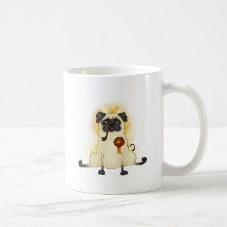 The Third Best Pug Coffee Mug