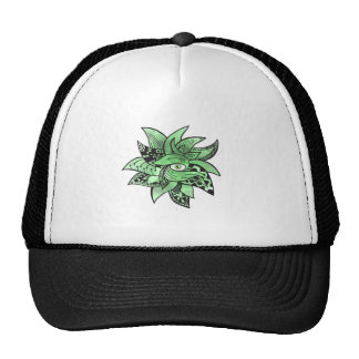 The third buddhist eye pretty(awesome) doodle trucker hat