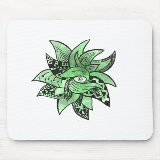 The third buddhist eye pretty(awesome) doodle mouse pad