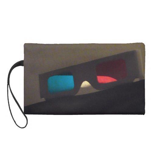 The Third Dimension Bag Wristlet Clutch