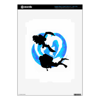 THE THIRD DIVE DECAL FOR iPad 3