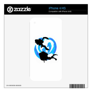 THE THIRD DIVE iPhone 4 SKINS
