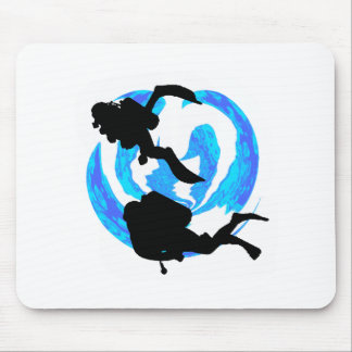 THE THIRD DIVE MOUSE PAD