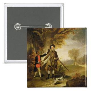 The Third Duke of Richmond (1735-1806) out Shootin Pinback Buttons