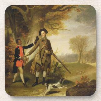 The Third Duke of Richmond (1735-1806) out Shootin Drink Coaster