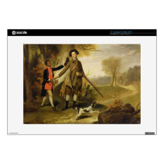 The Third Duke of Richmond (1735-1806) out Shootin Laptop Decal