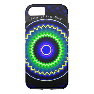 The Third Eye Blue Trendy Kaleidoscope iPhone 7 iPhone 8/7 Case