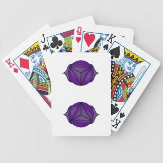 The Third Eye Chakra Bicycle Poker Cards