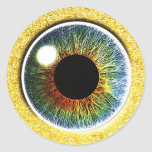 the Third Eye Classic Round Sticker