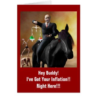The Third Horseman Card