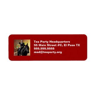 The Third Horseman Label