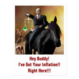 The Third Horseman Postcard