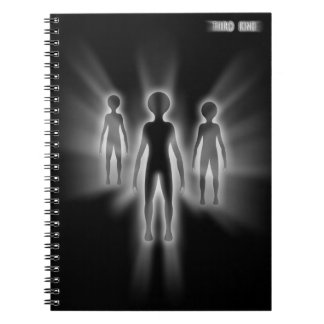 The Third Kind Abduction Spiral Note Books