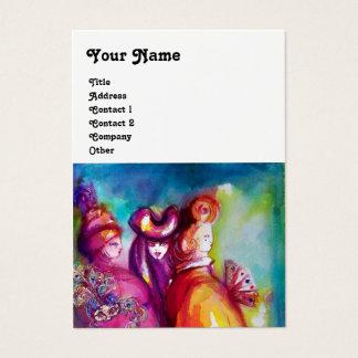 THE THIRD MASK / Costume Designer ,Theater Artist Business Card