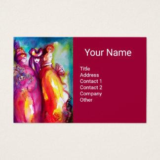 THE THIRD MASK / Costume Designer,Theater Artist Business Card