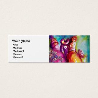 THE THIRD MASK / Costume Designer ,Theater Artist Mini Business Card