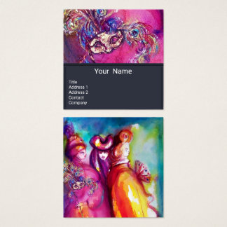 THE THIRD MASK / Costume Designer ,Theater Artist Square Business Card