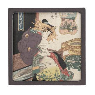 The Third Month, Cherry Blossoms in Naka-no-chô Jewelry Box