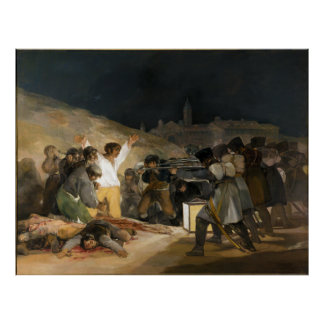 The Third of May 1808 by Francisco Goya Posters