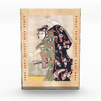 The Third Otani Oniji as Samurai Katsukawa Shunsho Acrylic Award