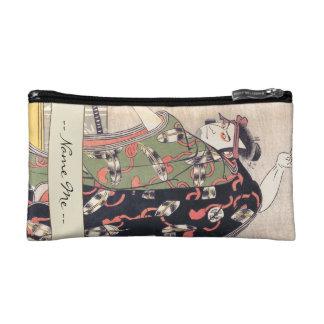 The Third Otani Oniji as Samurai Katsukawa Shunsho Makeup Bag
