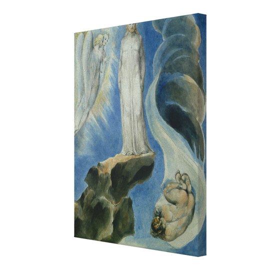 The Third Temptation Canvas Print