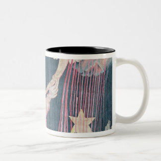 The Third Trumpet and the Wormwood Star Two-Tone Coffee Mug