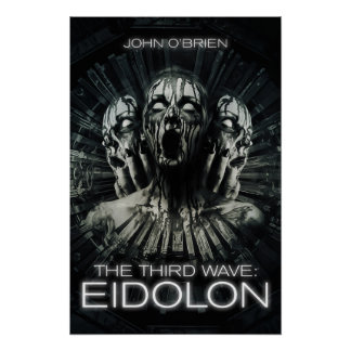 """""""The Third Wave: Eidolon"""" Book Cover Wall Poster"""