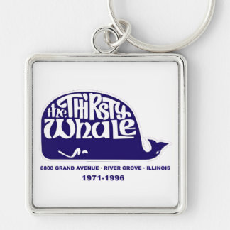 The Thirsty Whale, River Grove, Illinois Keychain