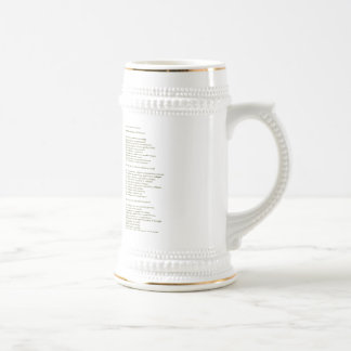 The Thirty Swigs Beer Stein