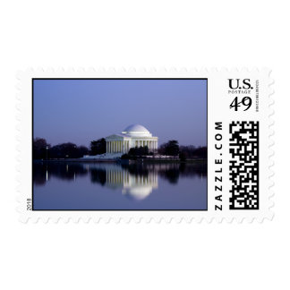 The Thomas Jefferson Memorial Stamps