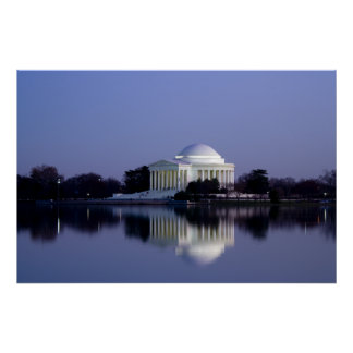 The Thomas Jefferson Memorial Poster