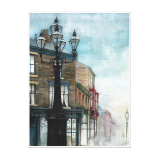 The Thornaby 5 Lamps, Misty - CANVAS