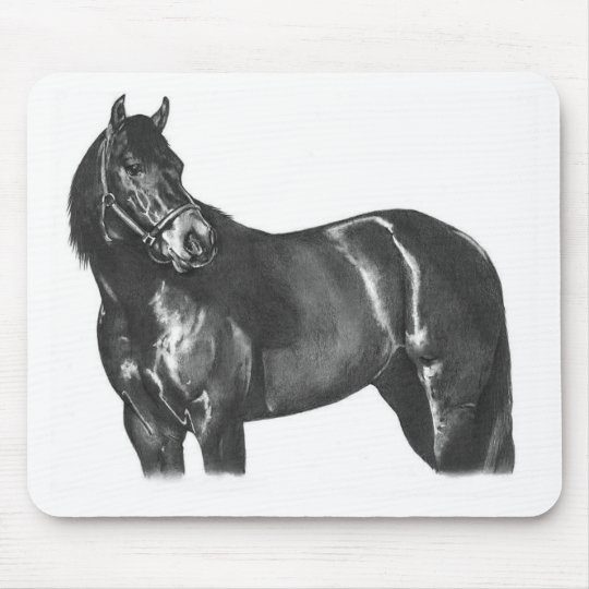 The Thoroughbred Mouse Pad