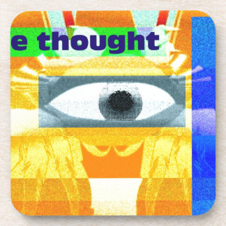 The thought! coasters