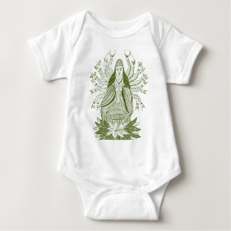 The Thousand-handed Kwan Yin Baby Bodysuit