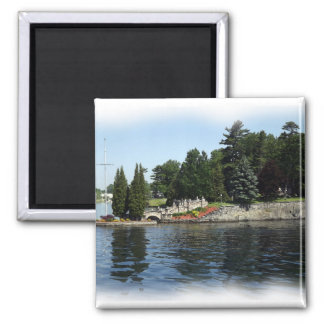 The Thousand Islands #1 2 Inch Square Magnet
