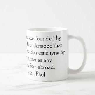 The Threat of Tyranny Coffee Mug