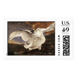 The Threatened Swan Postage Stamp