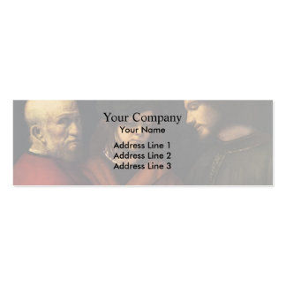 The Three Ages of Man by Giorgione Business Card