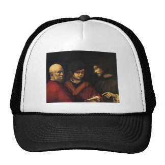 The Three Ages of Man by Giorgione Trucker Hat