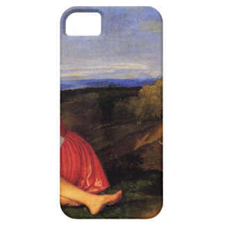 The Three Ages of Man by Titian iPhone SE/5/5s Case