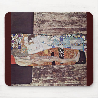 The Three Ages Of Woman By Klimt Gustav Mousepads