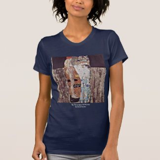 The Three Ages Of Woman By Klimt Gustav T-Shirt