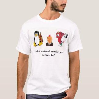 the three animals T-Shirt