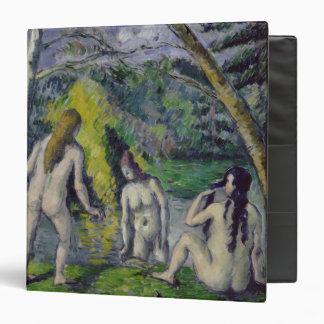 The Three Bathers, c.1879-82 3 Ring Binder